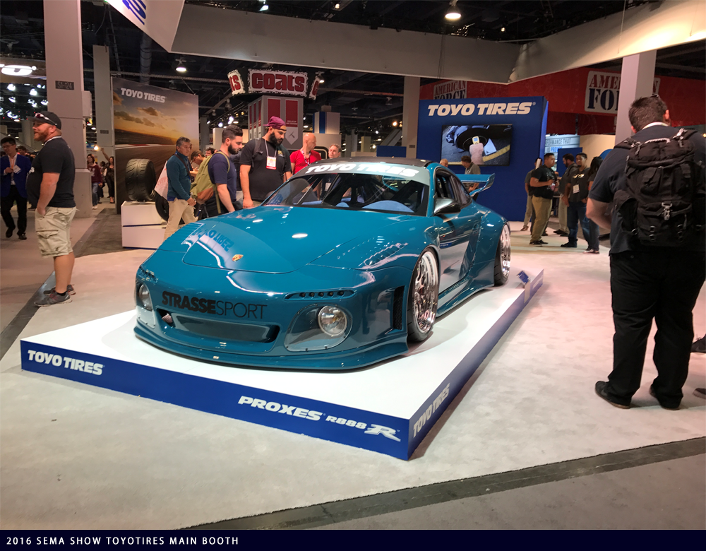 2016 SEMA SHOW TOYOTIRES MAIN BOOTH